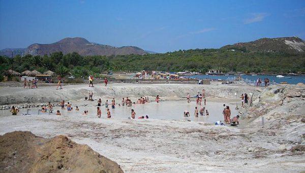 Aeolian Island mud bath