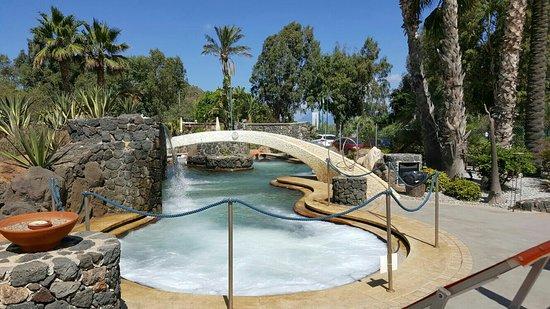 Geothermal pools Vulcano Island